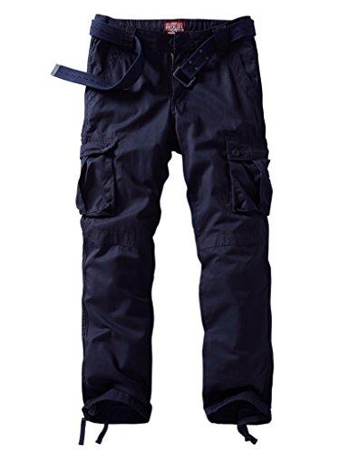 Match Herren Cargo hose #3357 6057 Blau violett
