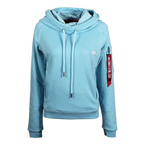 Alpha Industries X-Fit W Hoodie air blue (Hoodie Us Air)