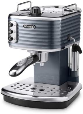 DeLonghi Scultura tradicional Bomba cafetera espresso, 1100W, champán _ Parent