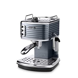 Delonghi Scultura Traditional Pump Espresso Coffee Machine, 1100 W, Champagne_Parent