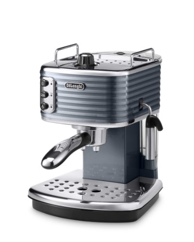 Delonghi Scultura Traditional Pump Espresso Coffee Machine, 1100 W, Champagne_Parent 415gptl5n2L