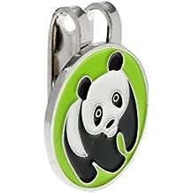 MagiDeal Accesorio Magnético de Marcador de Bola de Golf de Panda de Metal  con Regalo de 842fb95308bd