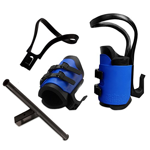 Teeter Hang Ups EZ-Up Gravity Boots with Conversion Bar by Teeter Hang Ups -