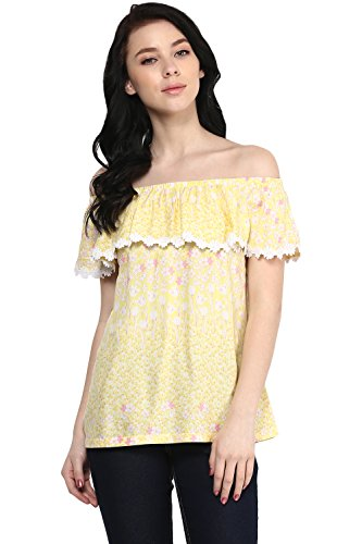 Honey By Pantaloons Women's Rayon Blouse