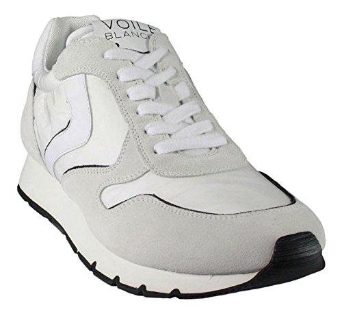 Voile Blanche , Chaussures de ville à lacets pour homme blanc Weiß Weiß