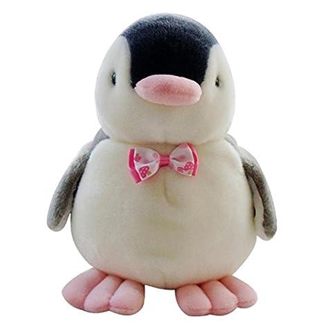 erthome 15cm Penguin Baby Soft Plush Toy Singing Stuffed Animated Animal Kid Doll Gift