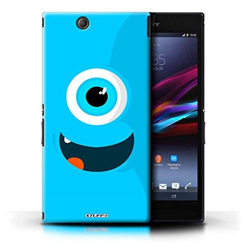 Kobalt® Imprimé Etui / Coque pour Sony Xperia Z Ultra / Jaune conception / Série Monstres Bleu