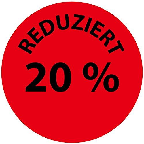 LabelOcean(R), LO-PR-PA-3020-2-50, 50 Promotion Etiketten, Sonderpreisetiketten, Aktionsetiketten - Aufkleber, Rabattaufkleber, 2 cm auf Rolle, selbstklebend, aus Papier matt