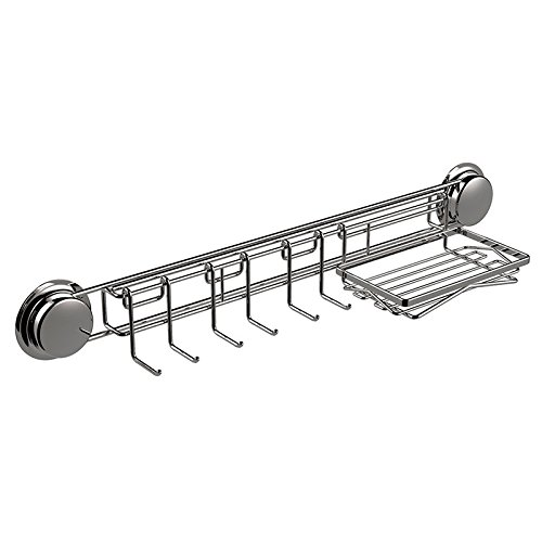 clg-fly-suction-cup-rack-electroplating-stainless-steel-bathroom-storage-holder-towel-cloth-hooks