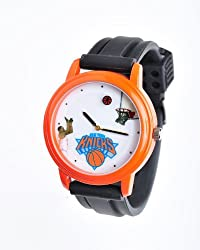 NBA New York Knicks Shooting Ball Orange Watch and Black Band