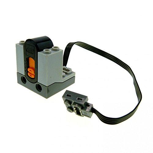 Preisvergleich Produktbild 1 x Lego Technic Infrarot Empfänger neu-hell grau schwarz Kabel Power Functions IR Receiver Electric geprüft 8884-1 58123c01