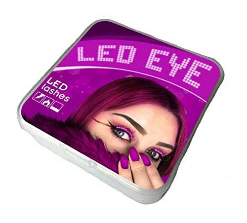 LEDEYE Unisex Blitze Interaktives LED Wimper Glowing LED-Licht -