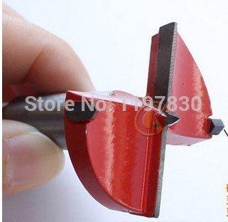 Generic 50* 83* 10Holz & Kunststoff Scharnier Boring Lochsäge Bohrer Bit Cutter Schlangenbohrer TCT Bits für Holz Kunststoff Bohren