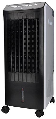 El Fuego–Climatizador portátil 3en 1(humidificación, ionisieren, refrigeración), 1pieza, Negro/Blanco, 705
