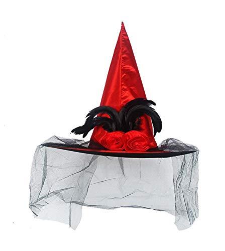 Halloween Hexe Hut Kostüm Zubehör für Haloween Party, M2