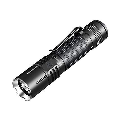 HITSAN INCORPORATION Klarus 360X1 XHP35 HD E4 1800 lumens 6 Modes Double Interrupteur à réaction Rapide Lampe Torche Tactique LED 18650