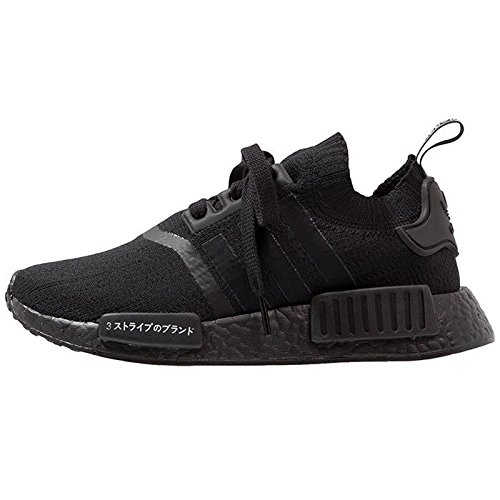 adidas Men's Nmd_R1 Pk Fitness Shoes, Black (Negbas/Negbas/Negbas), 9 UK