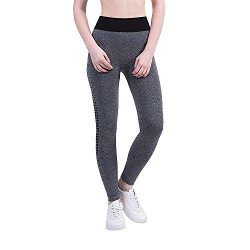 UFACE Frauen Gym Yoga Patchwork Sport Laufen Fitness Leggings Hosen Sporthose