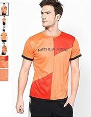 T10 Sports Boys' Netherlands Fan Jersey Orange