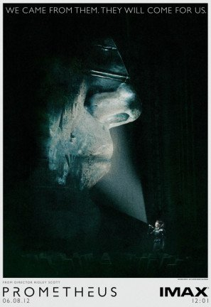 PROMETHEUS – US Imax Imported Movie Wall Poster Print - 30CM X 43CM Brand New Alien