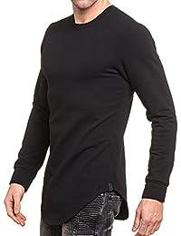 BLZ jeans - Sweat oversize homme noir