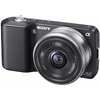 Sony NEX-3AB Systemkamera (14 Megapixel, Live View, HD Videoaufnahme) Kit schwarz inkl. 16mm Objektiv