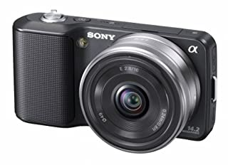 Sony NEX-3AB Systemkamera (14 Megapixel, Live View, HD Videoaufnahme) Kit schwarz inkl. 16mm Objektiv (B003LPUZ5Q) | Amazon price tracker / tracking, Amazon price history charts, Amazon price watches, Amazon price drop alerts
