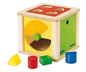 Selecta 1539 Varianto - Cubo de actividades con formas encajables