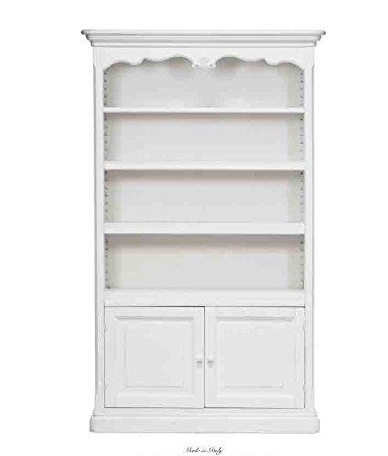 Libreria in legno con due sportelli L'ARTE DI NACCHI 4980/BG