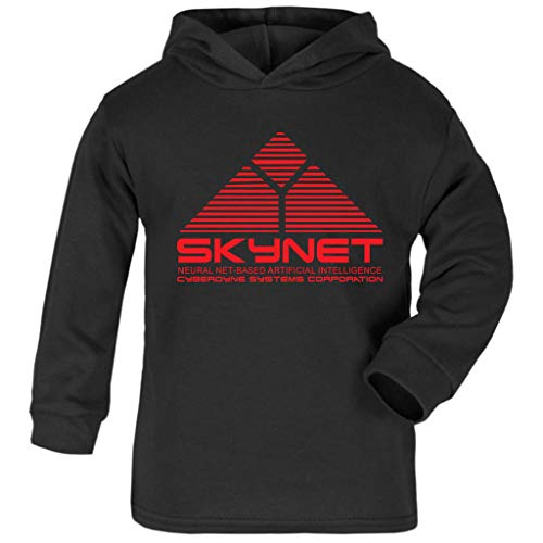 Skynet Cyberdnye Systems Terminator Baby and Kids Hooded Sweatshirt