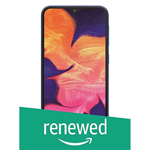 (Renewed) Samsung Galaxy A10 (Blue, 2GB RAM and 32GB) Without Offers