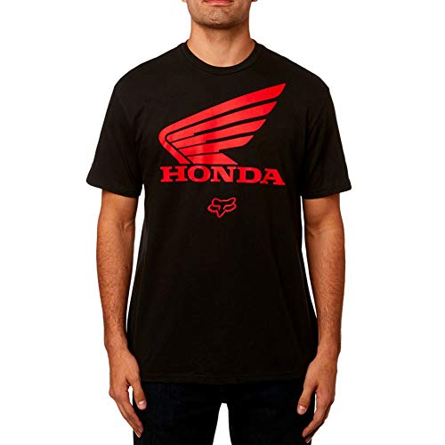 Fox Honda SS Tee - Black-Medium