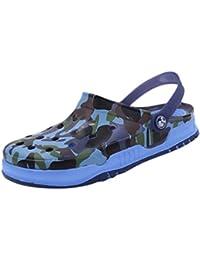 CHENGYANG Hombre transpirables zuecos sanitarios de Militar - Zapato Zapatilla Calzado Camuflaje