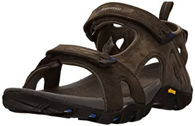 Karrimor Mens Dominica ll Athletic and Outdoor Sandals K470-BKB-149 Black/Blue 6 UK, 39 EU, 7 US