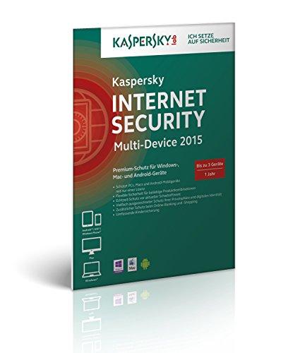 Kaspersky Internet Security 2015 Multi Device – 3 Geräte (Frustfreie Verpackung)