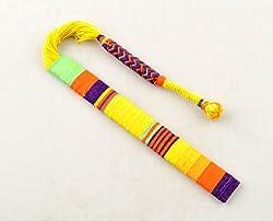 Yellow Thread Bookmark