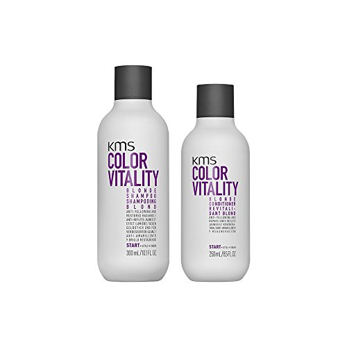 KMS California ColorVitality Blonde Shampoo 300 ml Und Conditioner 250 ml
