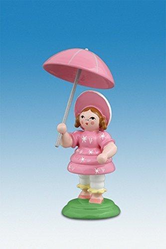 Ellmann Biedermeierfrau mit Schirm