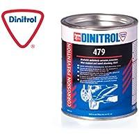 DINITROL® 479 - Protección para la Parte Inferior del vehículo Resistente a la Abrasión y Amortiguación de Sonido - 1 litro