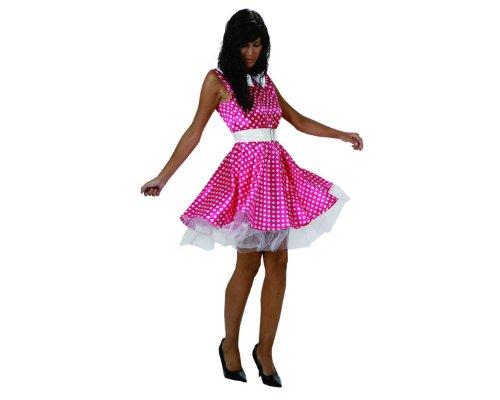 Atosa - Disfraz de años 60s retro para mujer, talla 38 - 40 (96133)