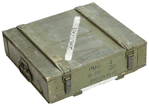 Munitionskiste PMO2 Aufbewahrungskiste ca 47x52x16cm Militärkiste Munitionsbox Holzkiste Holzbox Weinkiste Apfelkiste Shabby Vintage
