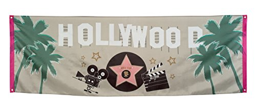 Boland 44206 - Banner Hollywood, 74 x 220 cm