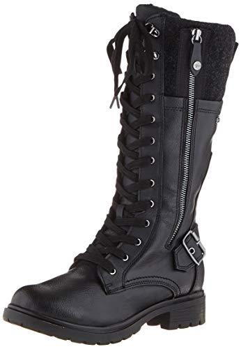 Tamaris Damen 1-1-26608-23 Hohe Stiefel, Schwarz (Black Comb 98), 39 EU
