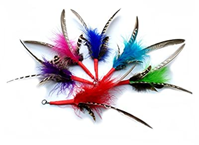 Feather Spinning Attachment - 3 Pack - Refill Fits PurrSuit, Da Bird & Frenzy Cat Toy