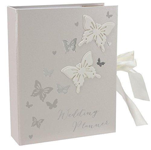 Preisvergleich Produktbild Butterfly Wedding Planner Organiser gift by Amore