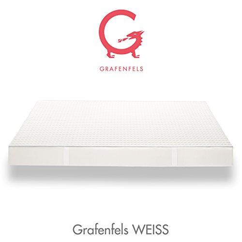 WEISS - Grafenfels.de - Kaltschaum Matratze 180x200 cm H3