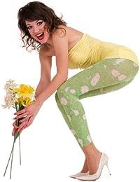 Hotlook Green green daisy Legging Blumenwiese Blumen Wiese grün weiß Sommer Frühling Blümchen