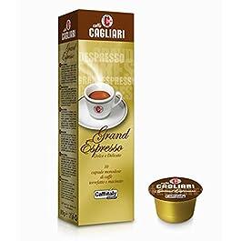 100 Capsule Caffitaly System Caffe' Cagliari Grand Espresso Network