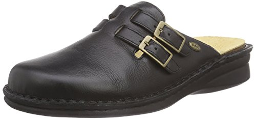 Scholl new indoor black, sabot uomo, nero (nero (nero), 44 eu