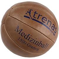 trenas Original Medizinball aus Leder - Studioqualität